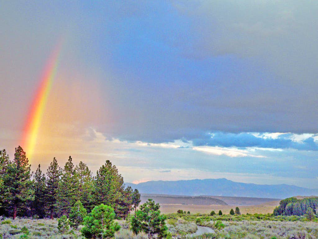 Rainbow spike, Long Valley
