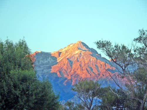 Mt. Williamson at sunrise