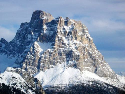 Monte Pelmo 3168m seen from...