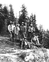 Crown Mountain 1910 Summit Party