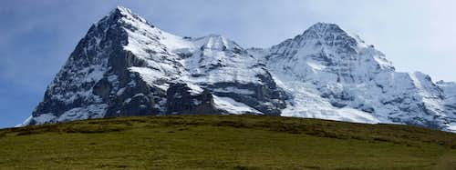 Eiger and Monch