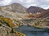 Florence Peak and Florence Lake