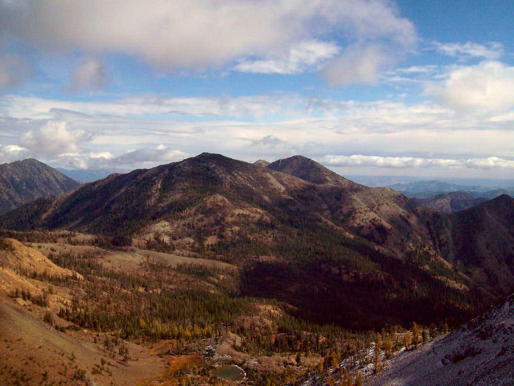 Earl summit views