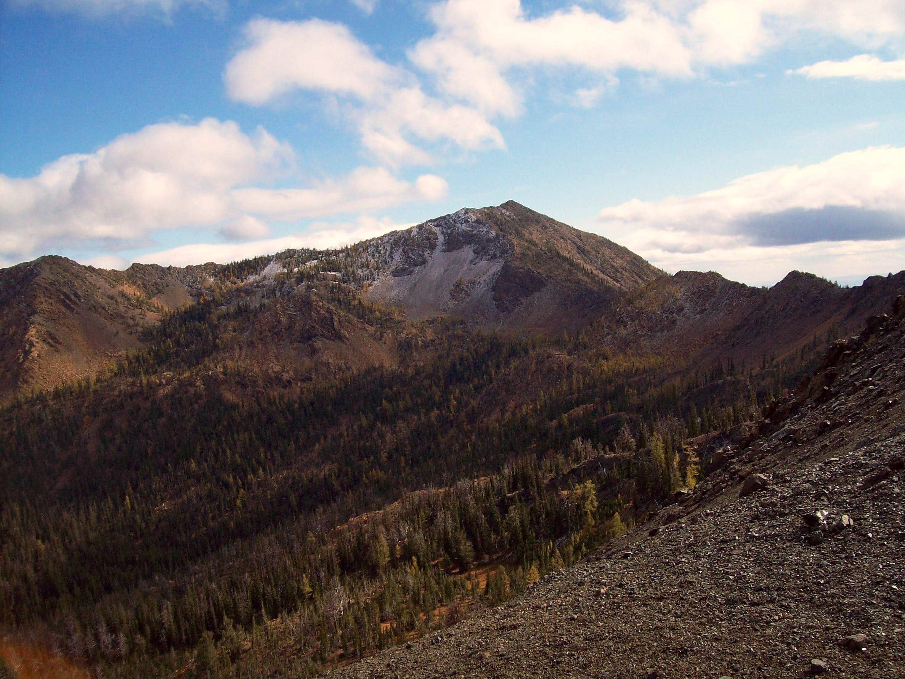 Earl Peak and Iron Peak