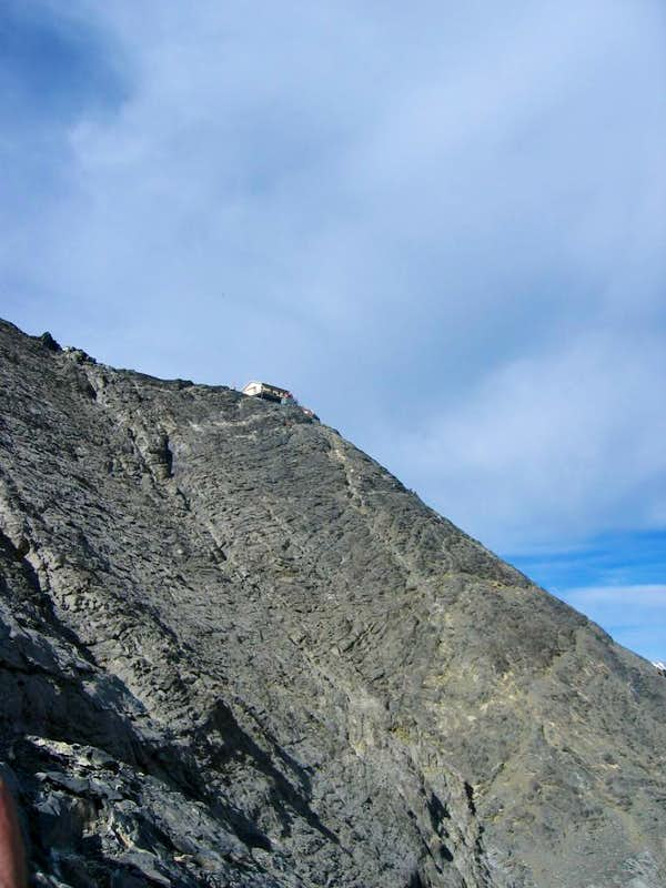 Approach to Mittellegi Hut