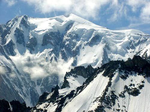 Mont Blanc 4810m seen from...