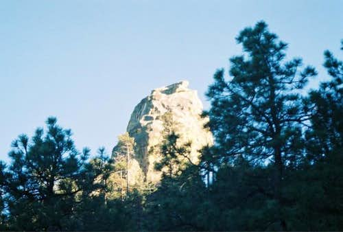 The famous chimmney rock.