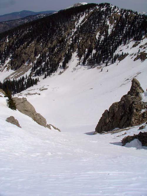 Nambe Chutes Spring Ski