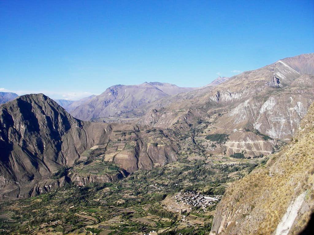 Cerro Santa Rosa, from the South