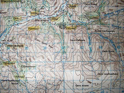Santa Rosa Area Map