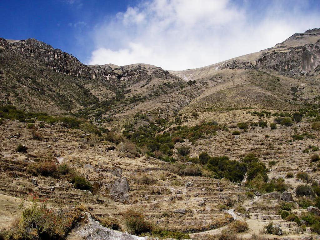 Main Route Up Cerro Santa Rosa