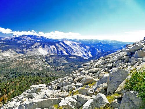 Southeast from Mt. Hoffman, Yosemite
