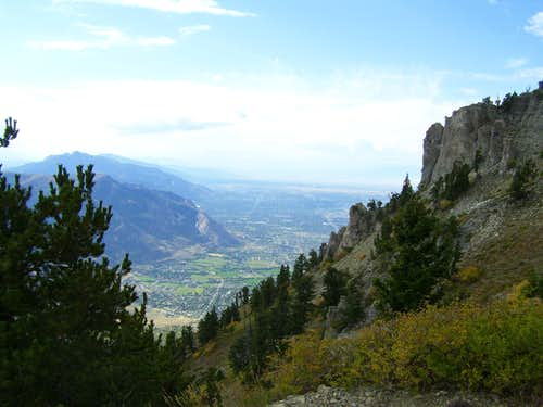Wasatch from Ben Lomand