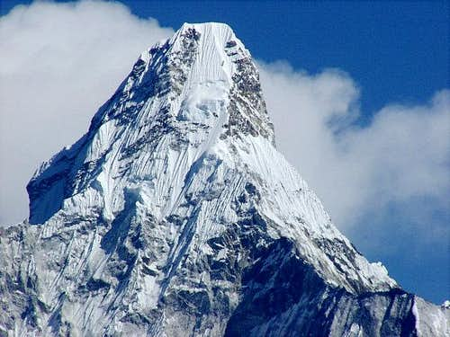 The summit of Ama Dablam...