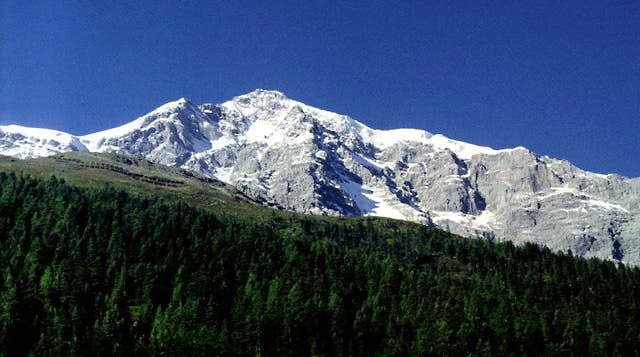 Ortler from nearby Sulden in...