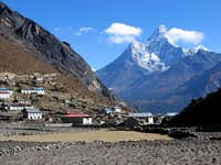 Ama Dablam 6828m seen from...