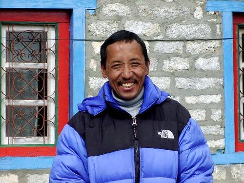 Apa Sherpa from a small...