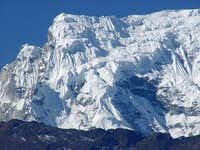 Numbur 6959m seen from the...
