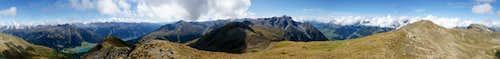 360° summit panorama Äußerer Nockenkopf