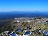 tableland from baxter peak