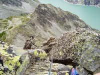Balzet south ridge