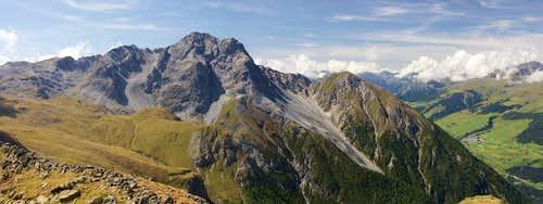 Piz S-Chalambert Dadaint (3031m) und Piz S-Chalambert Dadora (2678m)