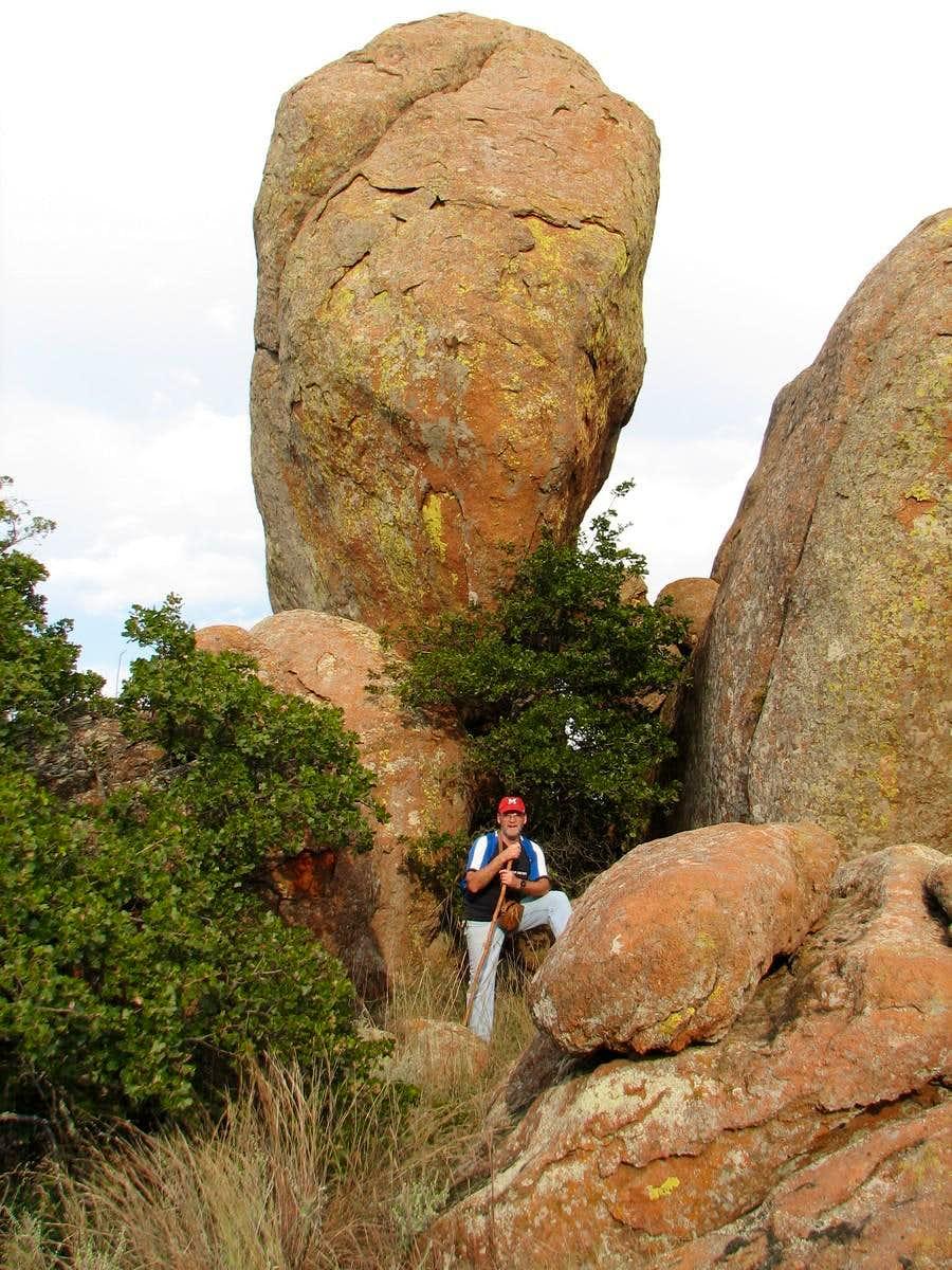 Big Rock on Eagle Mountain