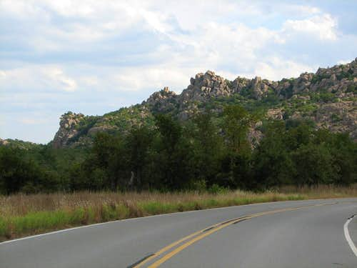 Eagle Mountain from Lost Lake Rd