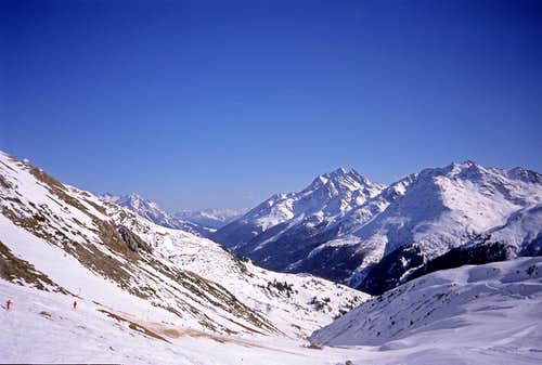 Skiing in Arlberg