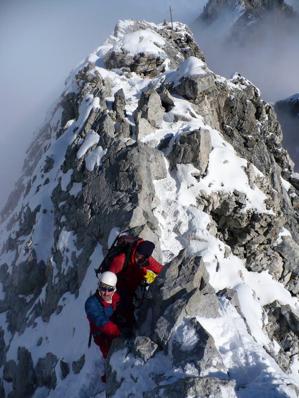 On the Tabaretta ridge