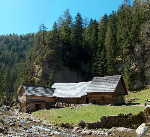 The water-mill in Kvačianska Dolina