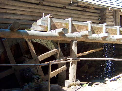 The water-mill in Kvačianska Dolina