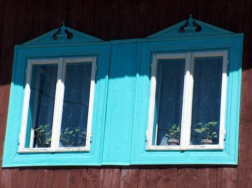 Fine traditional houses in Veľké Borové