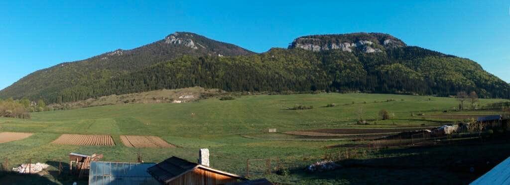 Kvačianska Dolina hillsides, from Kvačany