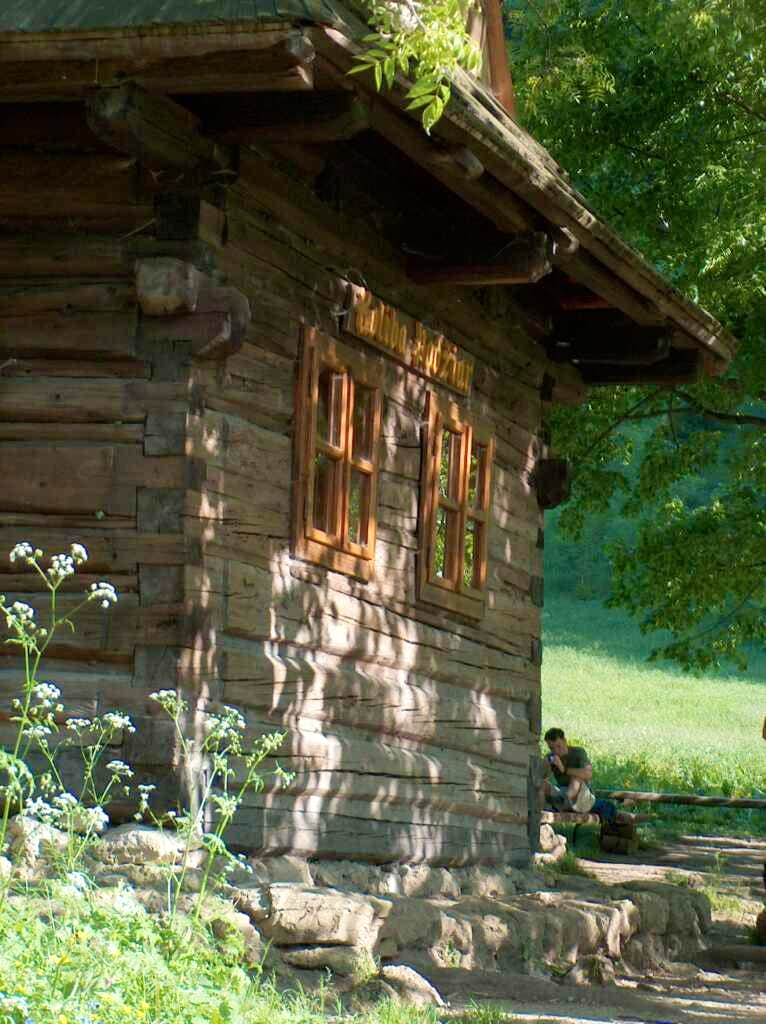 Refreshment hut at Podžiar pass