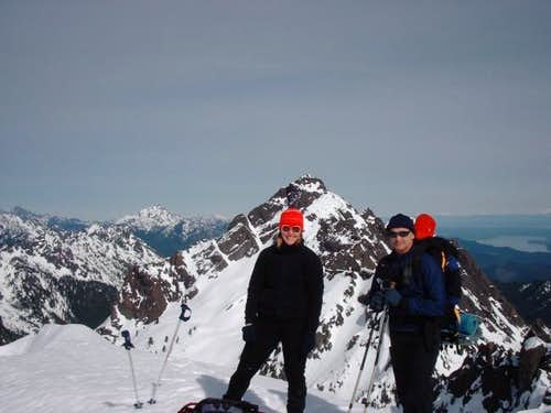 Mac & Kate on Mt. Ellinor,...