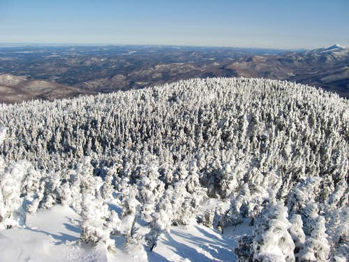 Winter on Camels Hump