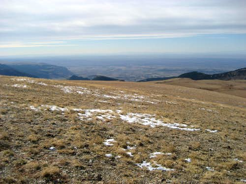 View south from Bald Mountain