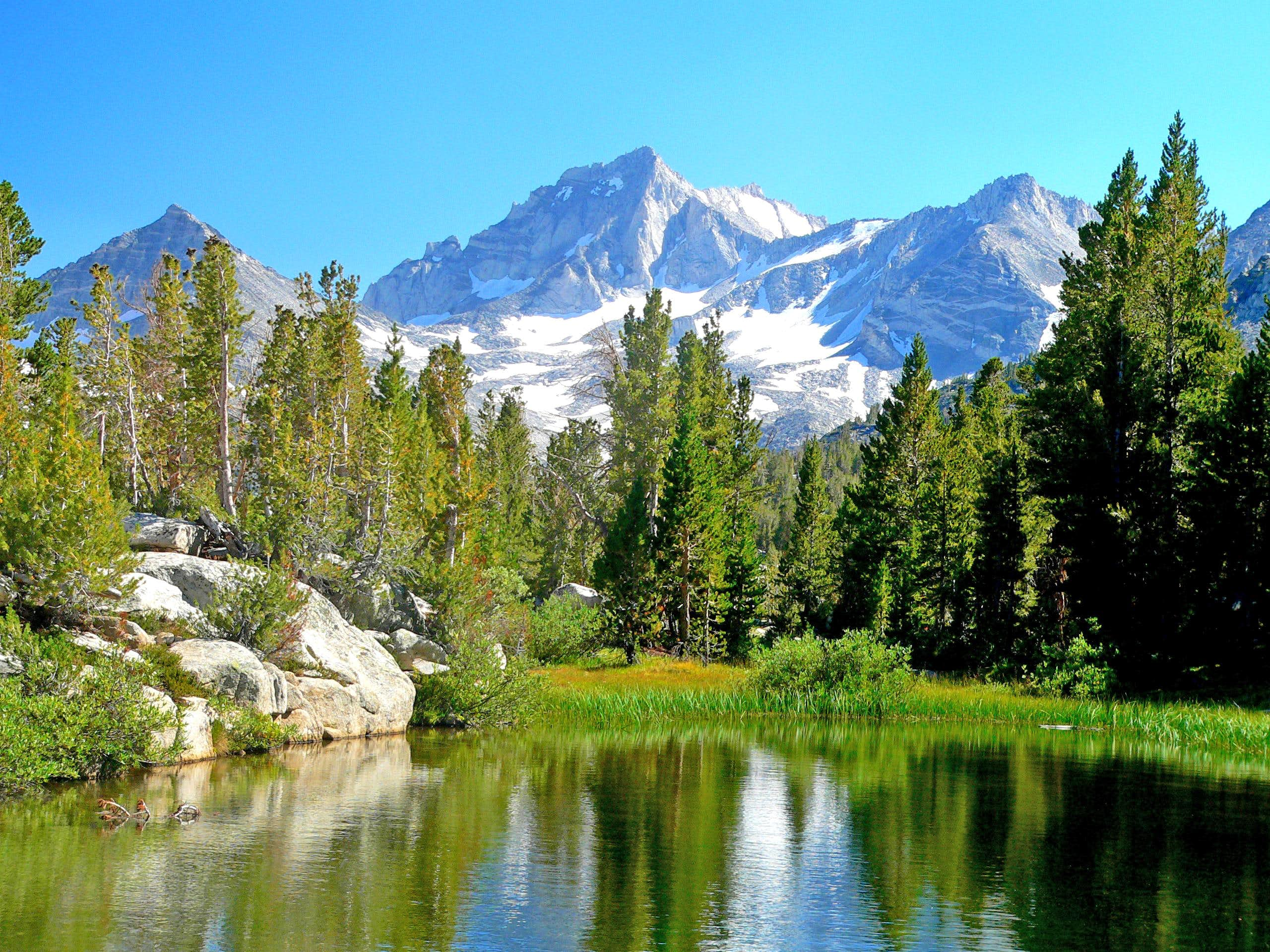 Sierra Mountain Lakes