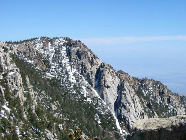 Red Tahquitz summit. Can't...