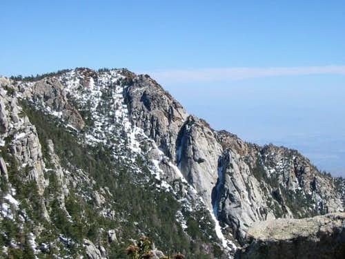 Red Tahquitz summit. Can\'t...
