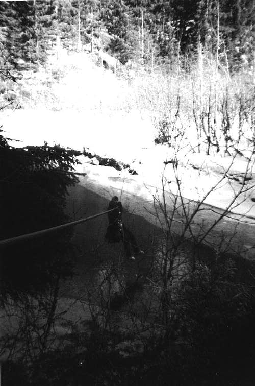 River crossing to Mount Bullard off the Mendenhall (use steel biners!)