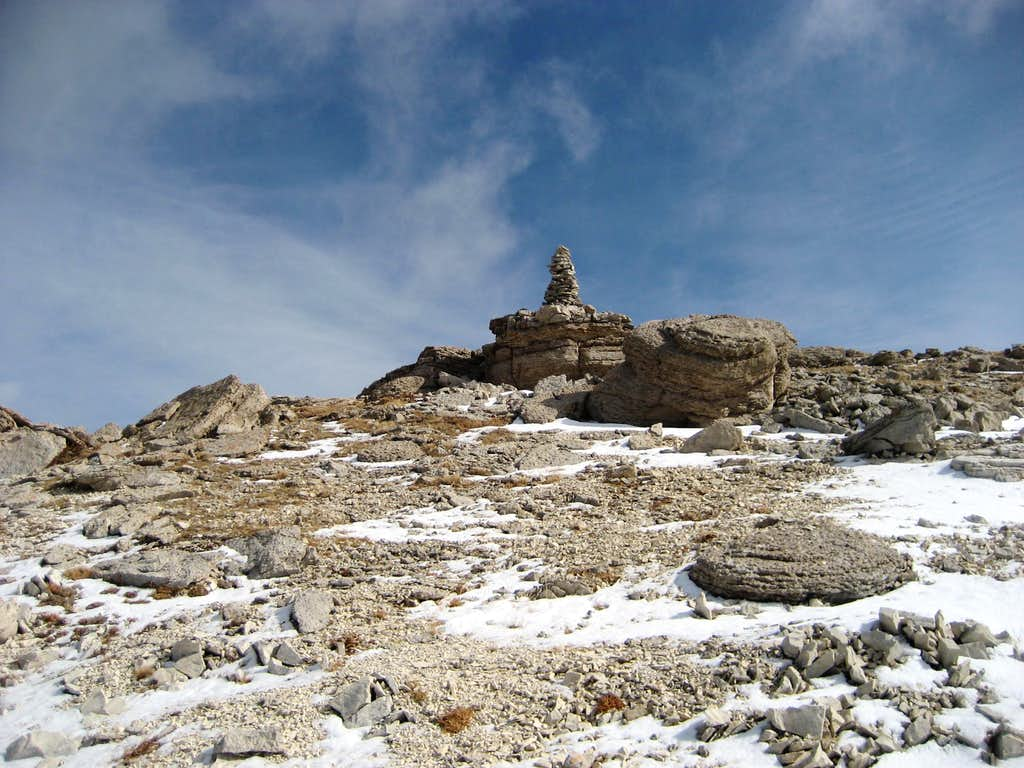 Hunt Mountain Summit