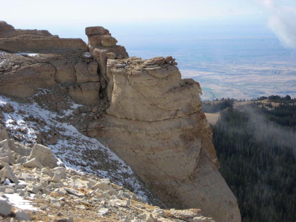 Rock Formations on Hunt Mountain