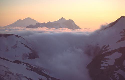 Cloudfall Through Perfect Pass, Northern Pickets