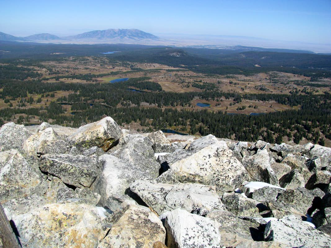 Elk Mountain from Medicine Bow