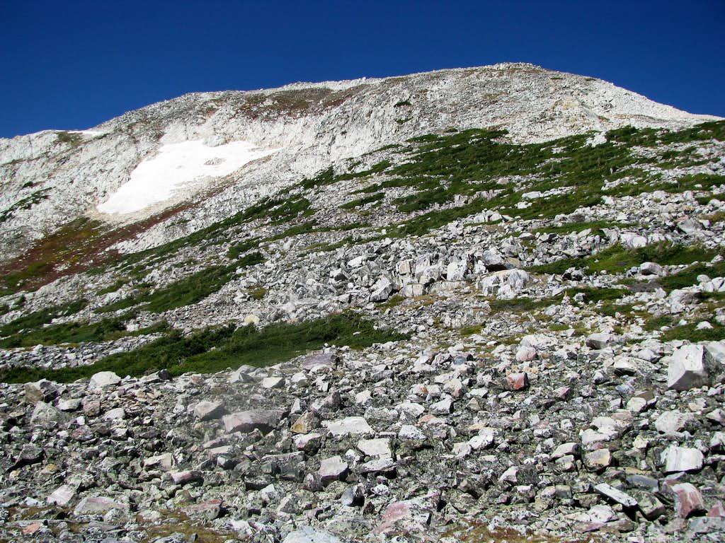 Medicine Bow Peak on descent