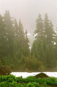 Just above Hannegan Pass.
