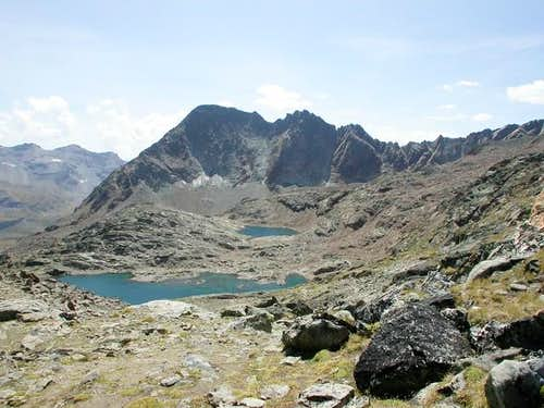 il monte Grauson versante...