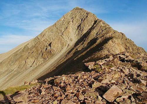 Mt. Lindsey Northwest ridge...